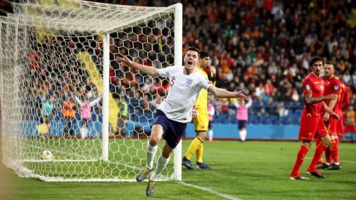 Michael Keane equalised for England