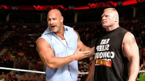 The Brock Lesnar is friends with several WWE Superstars