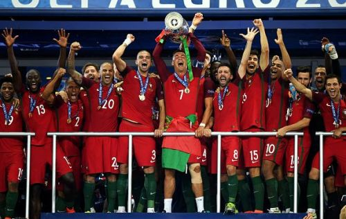 Portugal starts their title defence today against Ukraine
