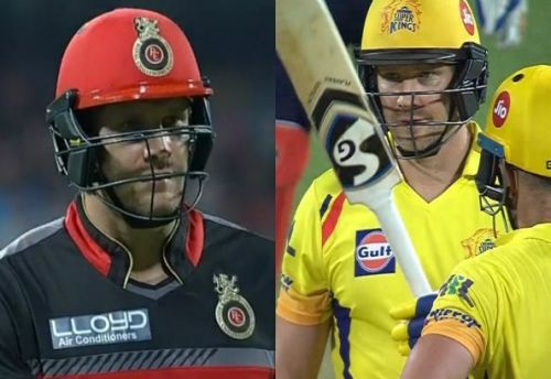 Shane Watson played for RCB from 2016 to 2017 before playing for CSK in 2018