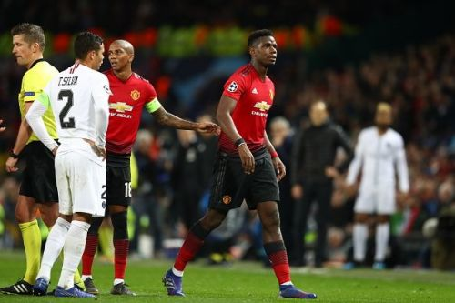 United will be without their talisman Paul Pogba for the big game in Paris tonight.