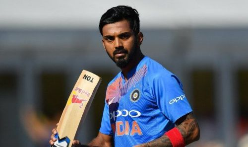 KL Rahul came in at number 3 today