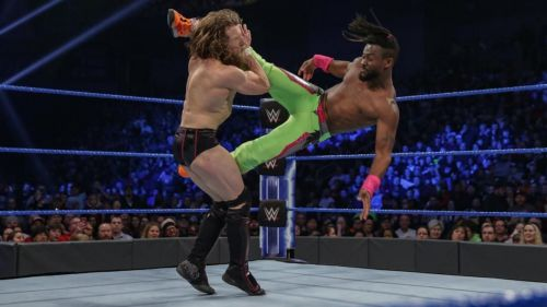 kofi kingston will now compete in wrestlemania for wwe championship
