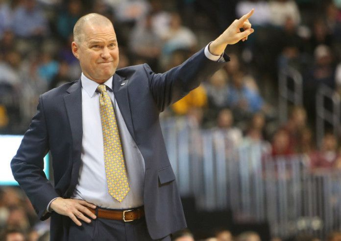 Michael Malone is a man on a mission. He is working not only to become the NBA Coach of the year, but has also established himself as an essential piece in every aspect of the Nuggets