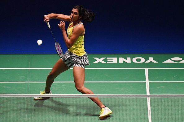 PV Sindhu was the only Indian to reach the last eight