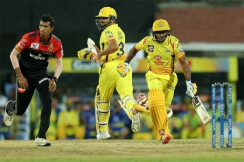 Ambati Rayudu only Batsmen to manage the Royal Chellangers Bengaluru spinners for pressure situation