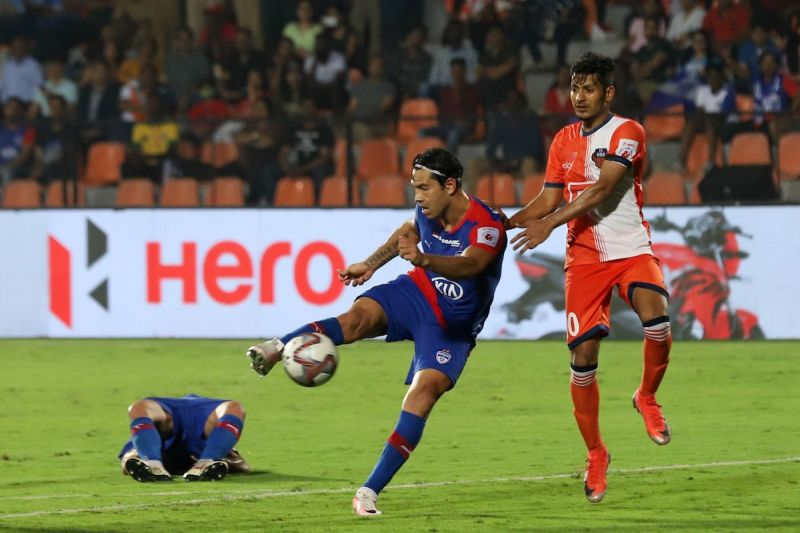 Bengaluru FC attacker Miku missed a host of chances before Rahul Bheke put the game to bed