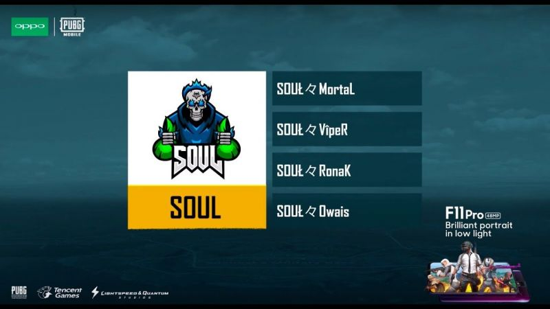 PUBG Mobile India Series: Why Soul Mortal's Team SOUL are Favourites