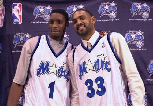 T-Mac and Grant Hill