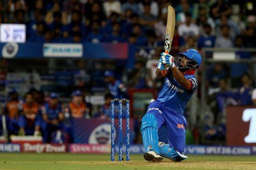 Rishabh Pant played a stunning innings against Mumbai (Image Courtesy: IPLT20)
