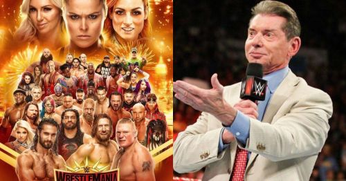 WWE is thinking about trimming down the 'Mania card.