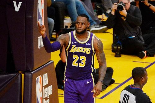LeBron James passed Michael Jordan for the fourth place in All-time scoring