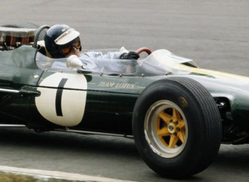 Jim Clark spent his entire F1 career driving for Lotus.