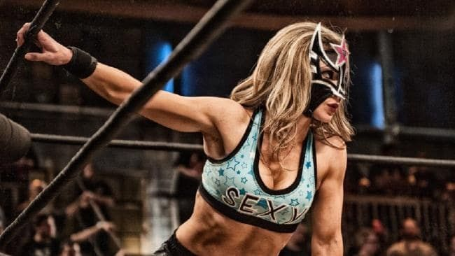 Sexy Star is the only woman to win the Lucha Underground title