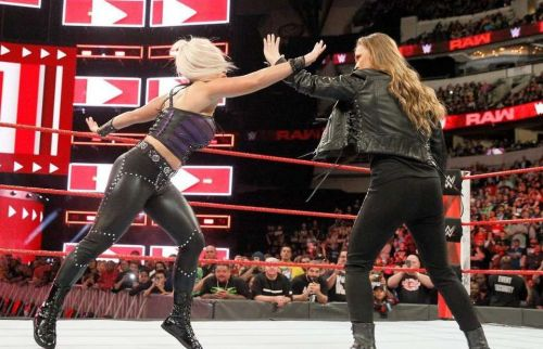 Ronda Rousey has squashed half of Raw's women's roster