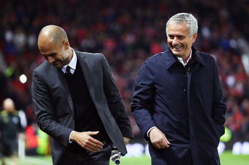 Guardiola and Mourinho are considered two of the games greatest managers