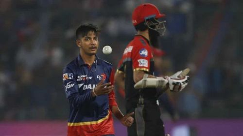 Lamichhane got 3 opportunities for Delhi Daredevils last year