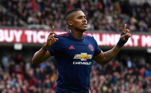 Antonio Valencia has lost his spot in the Manchester United lineup to youngster Diogo Dalot