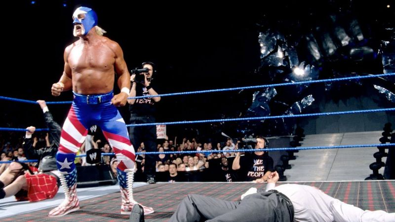 Despite a lie detector test live on SmackDown, McMahon failed to prove Mr. America was actually the Immortal Hulk Hogan