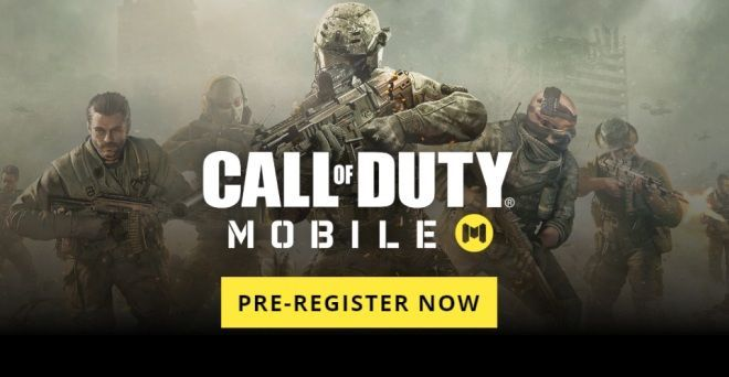 Call of Duty Mobile Pre-Register your self for the game.
