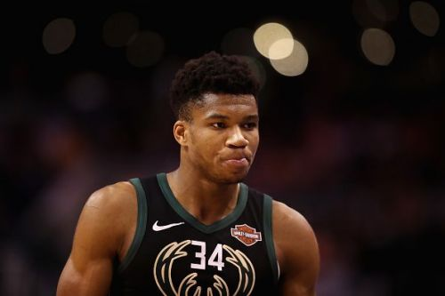 Giannis Antetokounmpo has hinted that he could compete in the 2020 NBA Dunk Contest
