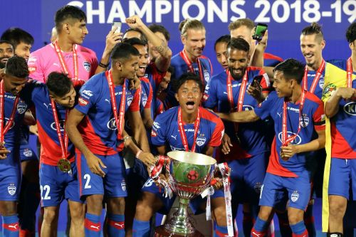 Bengaluru FC became the only club to win both the I-League and ISL titles when they beat FC Goa