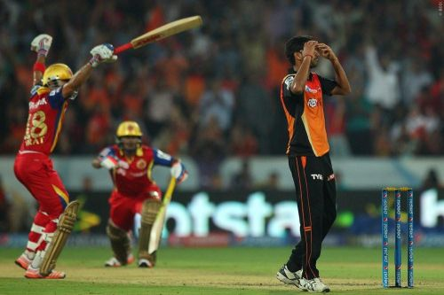 Hyderabad has produced some of the best SRH-RCB encounters (Courtesy: iplt20.com)