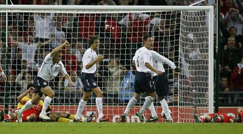 England's last match against the Czechs came in 2008