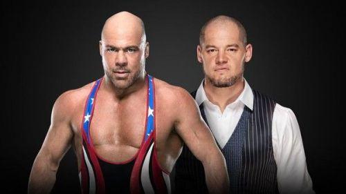 Kurt Angle vs Baron Corbin?