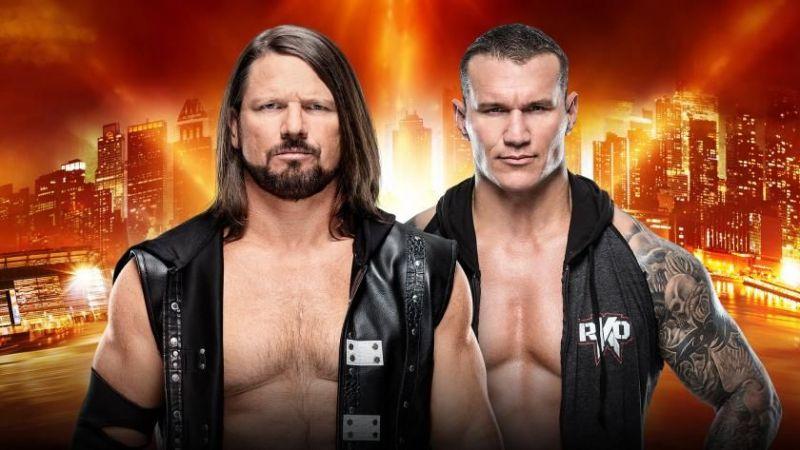 Orton vs Styles