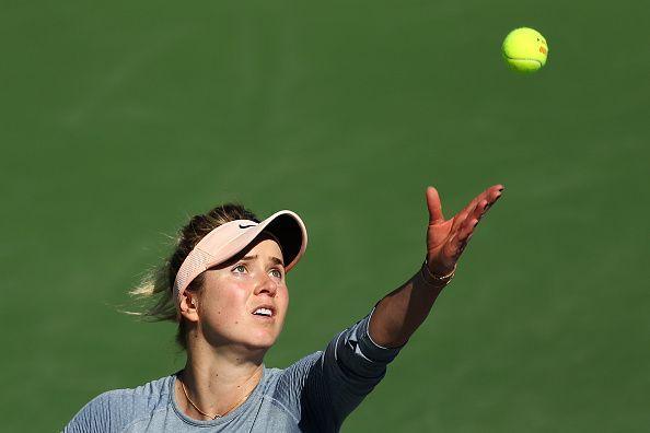 Elina Svitolina at BNP Paribas Open - Day 9