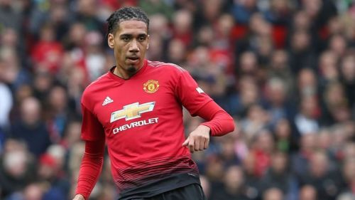 Chris Smalling will come up against Lionel Messi in the Champions League