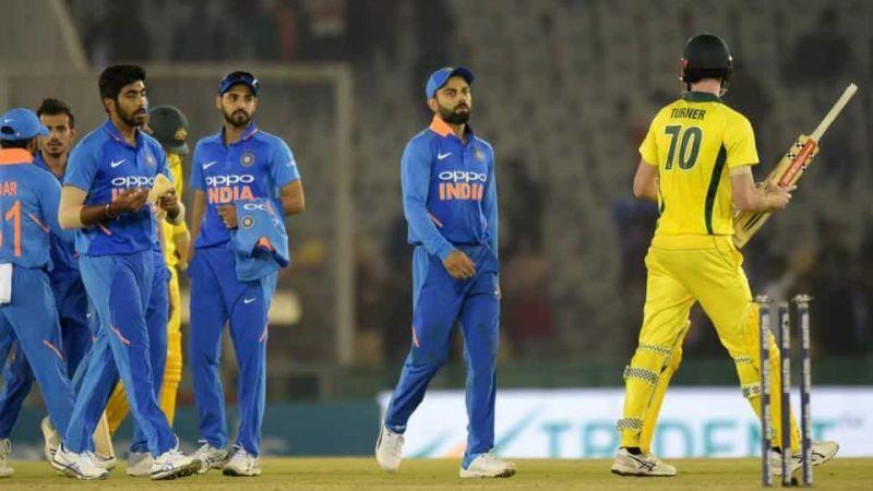 मैच हारने के बाद भारतीय टीम