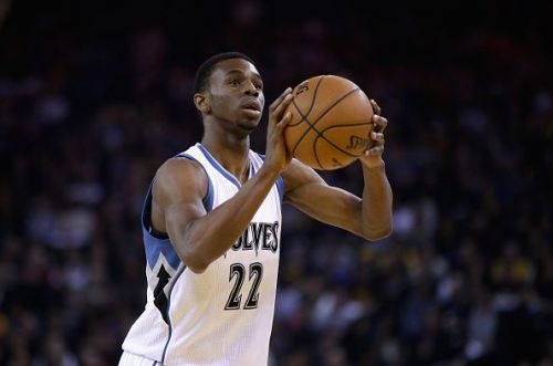 Andrew Wiggins was the Rookie of the year in 2015