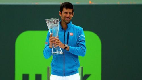 Novak Djokovic won his sixth Miami Open title in 2016.