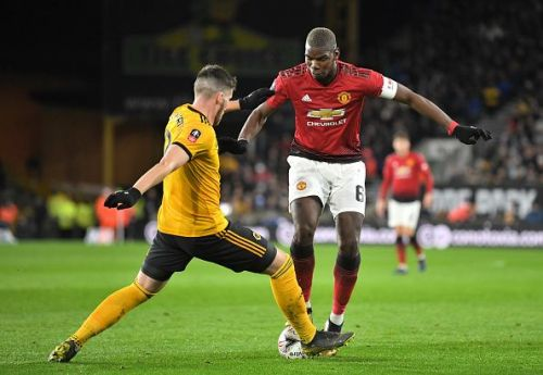 Pogba performed beneath his usual standards