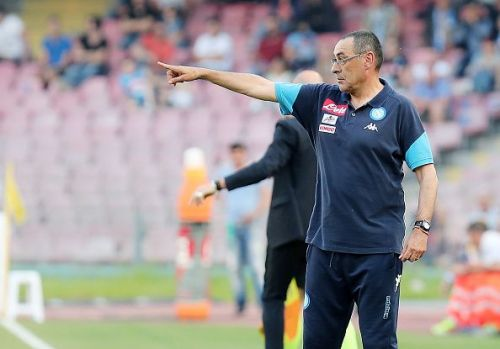 Sarri was highly praised during his time at Napoli.