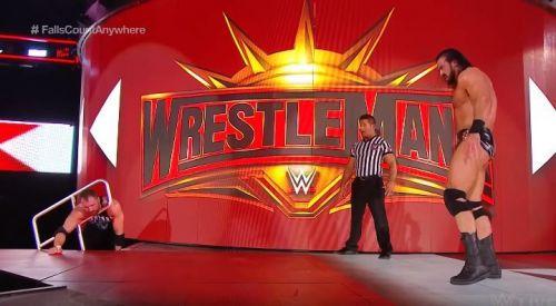 Drew McIntyre destroyed Dean Ambrose on RAW.