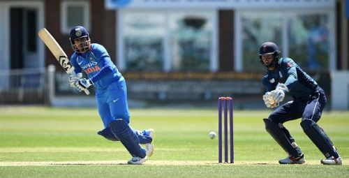 England Lions v India A - Tri-Series International