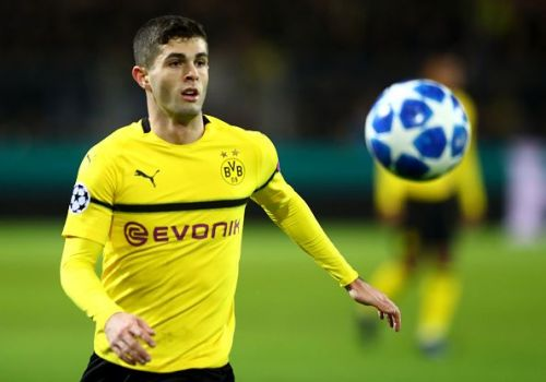 Christian Pulisic is out with injury for Borussia Dortmund