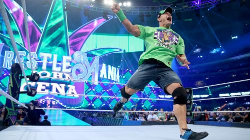 Cena is working at 'Mania since 2003
