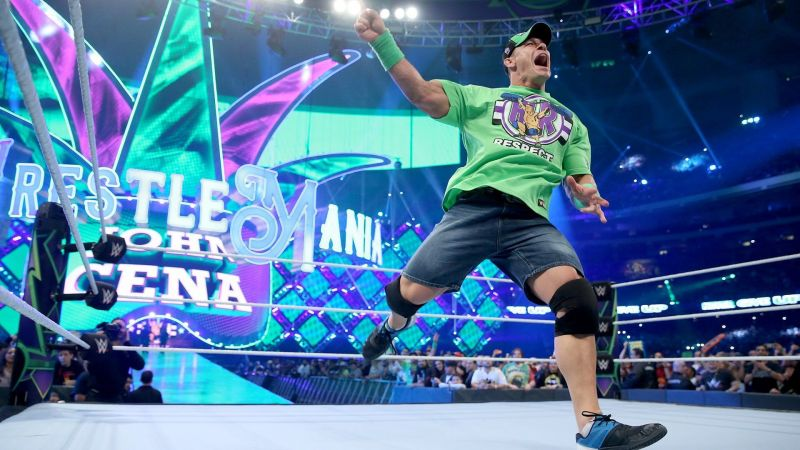 Cena is working at