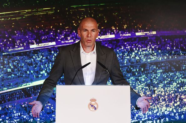 Zidane wants to make some big signings in the summer