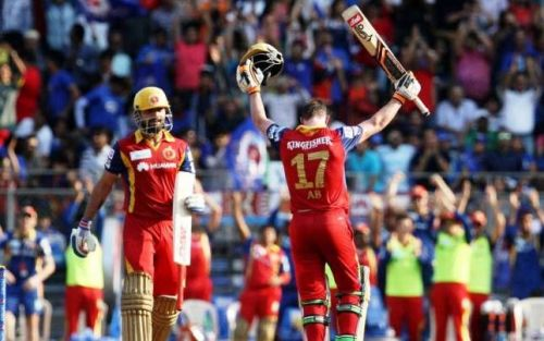 Kohli - de Villiers partnership was worth 215 off 101 balls