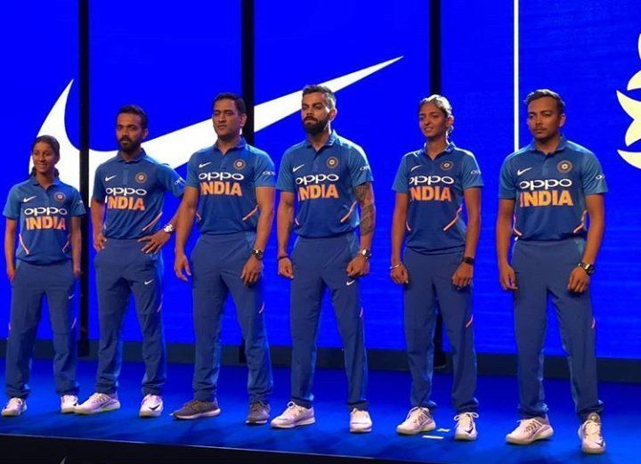 7f362966b3f ICC World Cup 2019  Twitter has mixed reaction for Team India s new ...