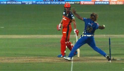 Umpire 'S Ravi' couldn't See this No Ball.