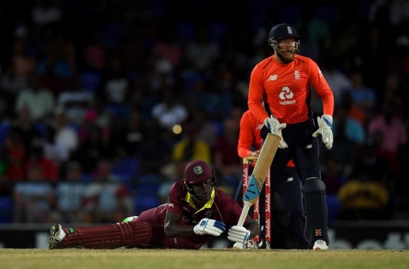 West Indies scored just 45 vs England