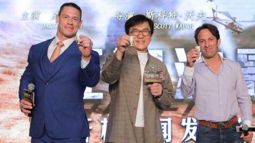 Cena with Jackie Chan