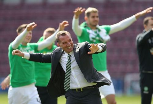 Rodgers won a lot of trophies at Celtic, but the Scottish Premiership is a weak league