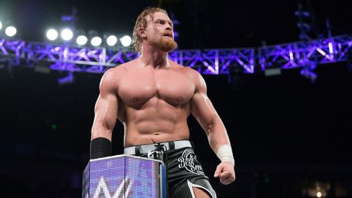 Do you remember where was Murphy at WrestleMania 34?